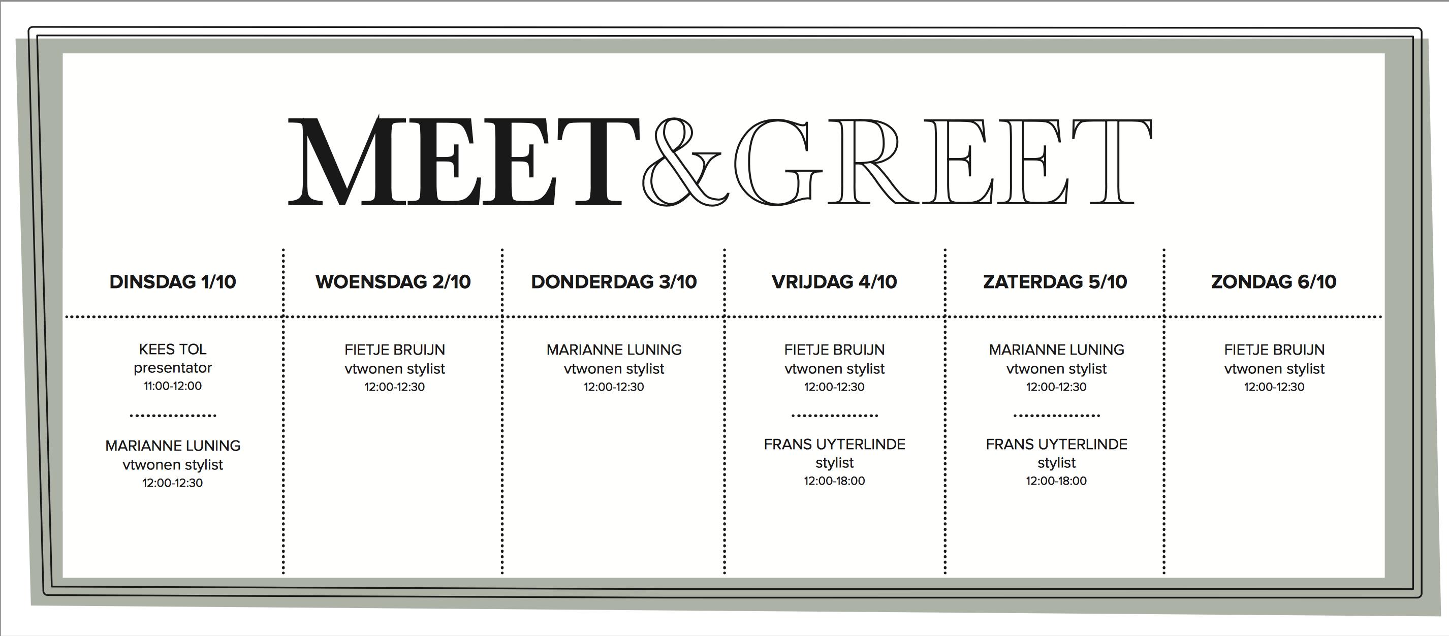 meet & greet